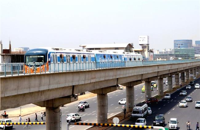 Justice Jain approves transfer of Gurgaon Metro to HUDA