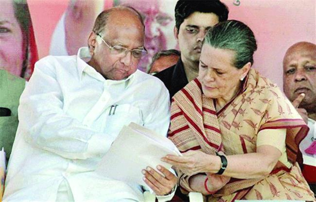 Sonia, Pawar discuss alliance for Maharashtra polls