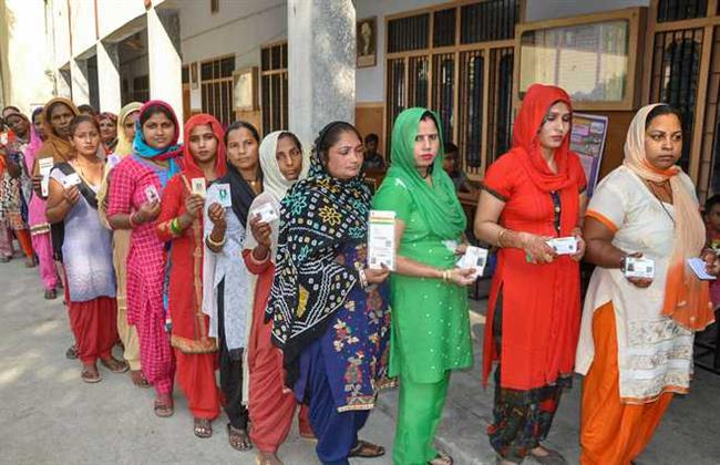 37 per cent polling in Haryana by 2 p.m.