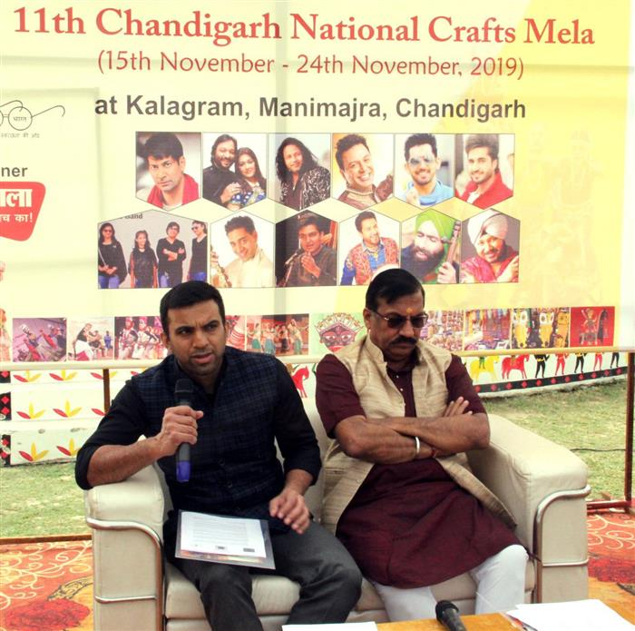 Chandigarh National Crafts Mela from November 15