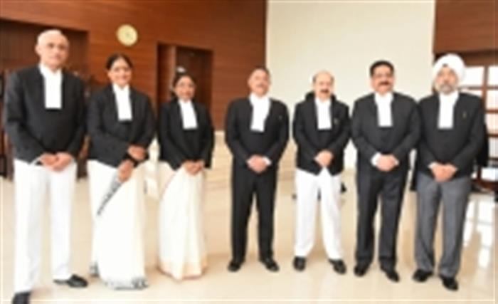 Punjab and Haryana High Court gets six judges