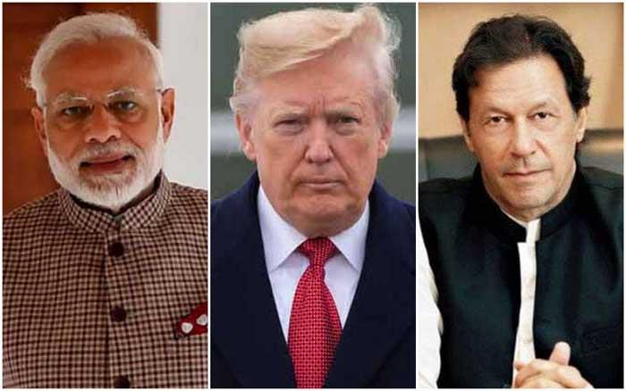 Share good relationship with Modi, Imran: Trump